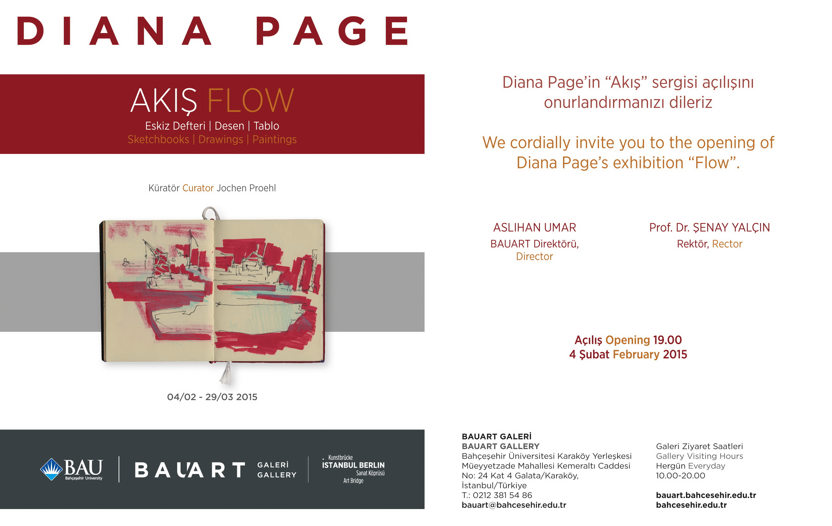 Diana Page EVITE / sergi
