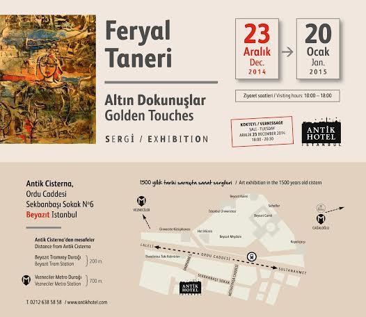 Ferya Taneri- Altın Dokunuşlar_sergi
