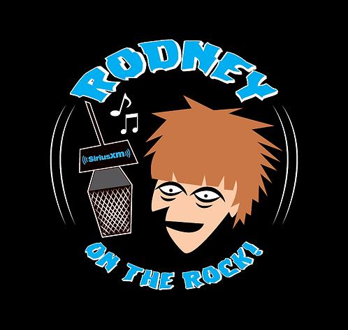 """""""Rodney On The Rock Blue"""" Button"""
