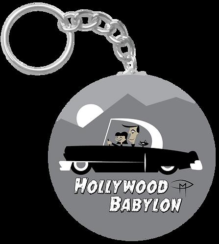 """Hollywood Babylon"" Keychain"