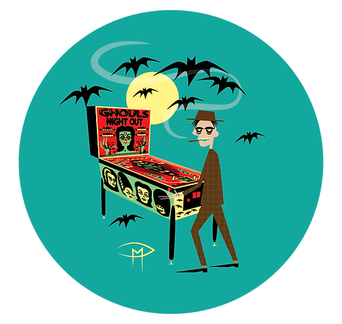 """""""Ghouls Night Out Player 2.25"""" Button"""