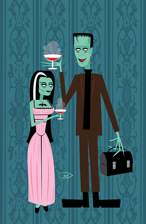 """Lily & Herman"" 11""X17"" Poster"