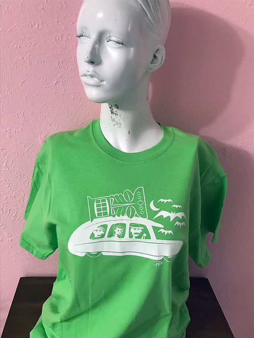 """""""Room For One More"""" Green T- Shirt Med"""
