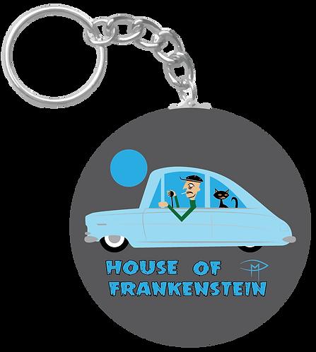 """""""House Of Frankenstein"""" Keychain"""
