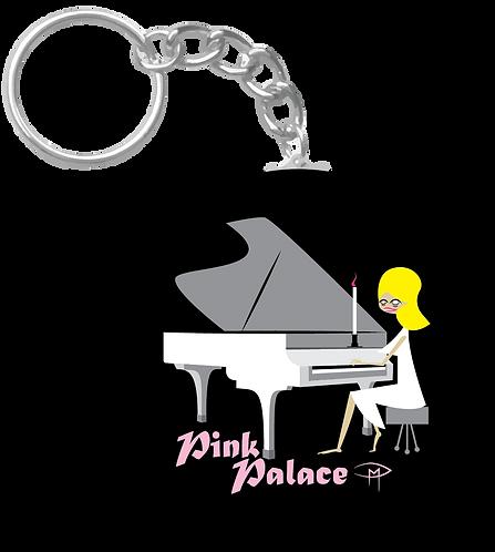 """""""Pink Palace"""" Keychain"""