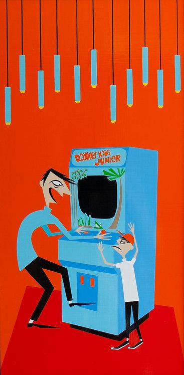 """""""Jungle Junkie"""" Original Painting"""