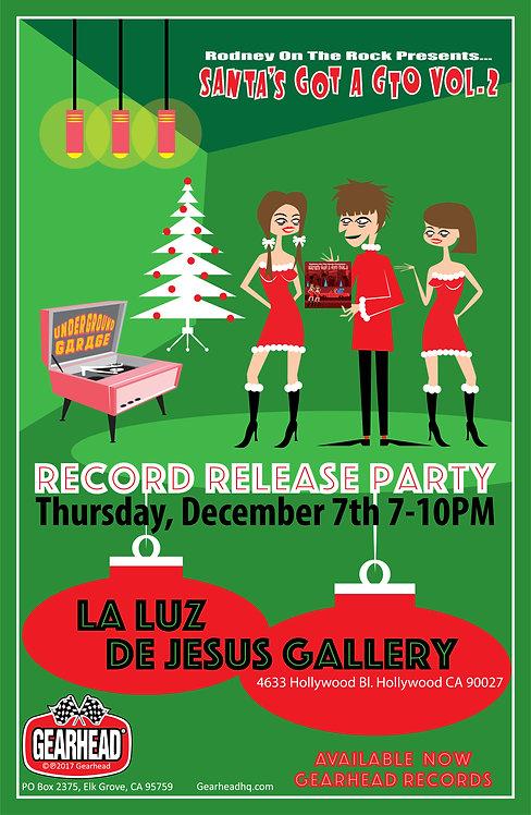 "Rodney Bingenheimer ""Release Party"" 11x17 Poster"