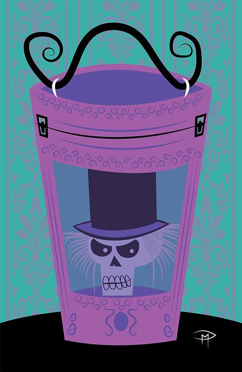 "Haunted Hatbox 11""x17"" Poster"