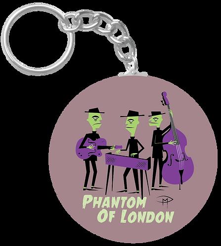 """Phantom Of London"" Keychain"
