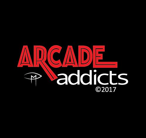 """Arcade Addicts 2.25"""" Button"""