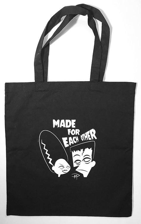 """Made For Each Other"" Tote Bag"