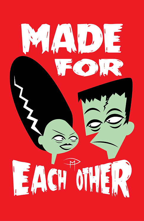 """Made For Each Other 11""""x17"""" Poster"""