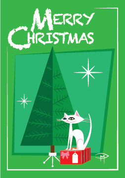 """A Gift For You"" 3.5""x5"" Christmas Card & Envelope"