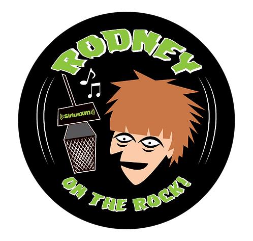 """Rodney On The Rock Green"" Button"