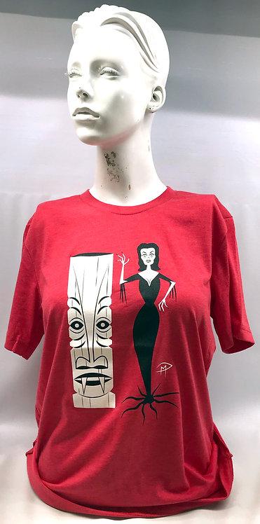 Vampira Tiki Unisex T-Shirt