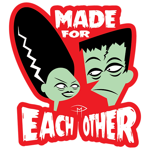 """""""Made For Each Other"""" Magnet"""