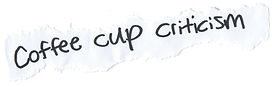 Coffee Cup Criticism, Jonathan Flike, Blue Mother