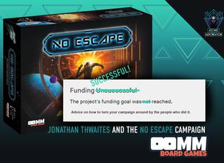 Jonathan Thwaites and the No Escape Campaign