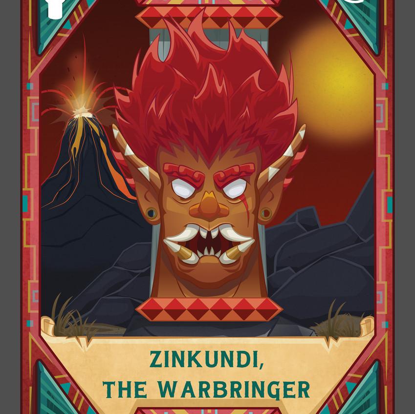 Zinkundi, The Warbringer