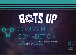 Matt and Rosie Parrish and The Bots Up Board Game