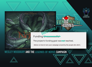 Wesley Woodbury and the Legends of Novus Campaign