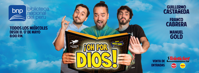 Daniel Iriarte | Oh Por Dios | Rocio Tovar