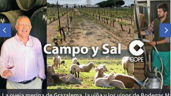 """Entrevista al Secretario-Ejecutivo de AMEGRA en el programa """"Campo y Sal"""" de la cadena COPE"""