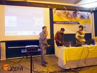 AMEGRA presenta un proyecto de protección del Alimoche en las Jornadas de Vejer