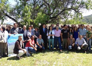 El consejero clausura la III Edición de la Escuela de Pastores celebrado en el Parque Natural de Gra