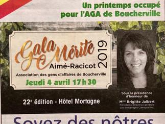 LMI est finaliste au 22e Gala Mérite Aimé-Racicot 2019 de l'AGAB