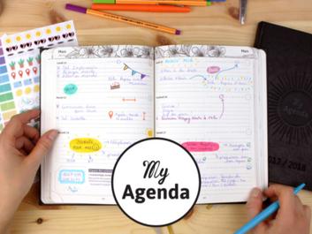 l'Agenda qui donne envie d'être déjà à la Rentrée!!!