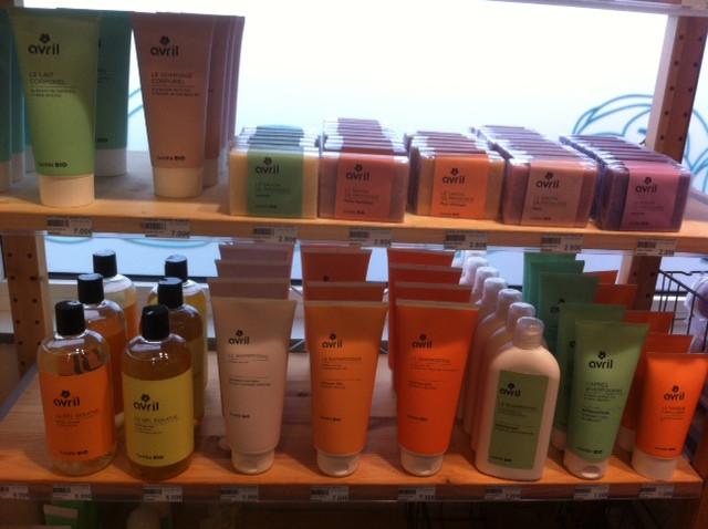 Et les produits d'hygiène, shampoing, savons, gels douche...