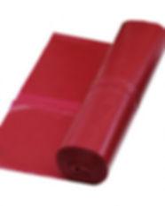 vuilniszak 70x110cm T50 rood