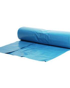 vuilniszak 60x70cm blauw