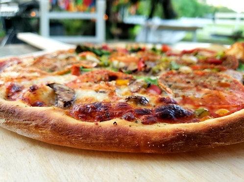 Fresh Brick Oven Pizza - Romantic Dinner for 2 under the oaks