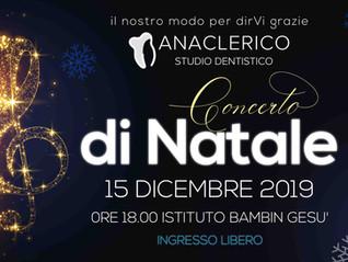 Concerto di Natale dello Studio Anaclerico 2019
