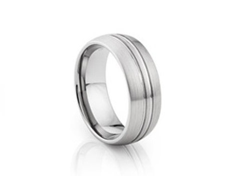 TUNGSTEN Trivia 8mm | Groove Double Brushed