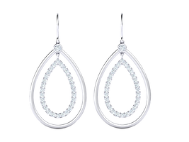 M0214 Two Tier Pear Drop Earrings_21_Vie
