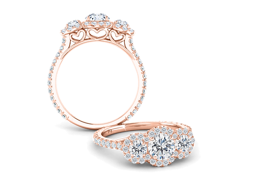 Three Times a Lady Stelle Ring