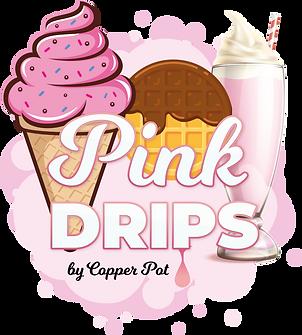 Pink Drips - Final Logo - Transparent.PN
