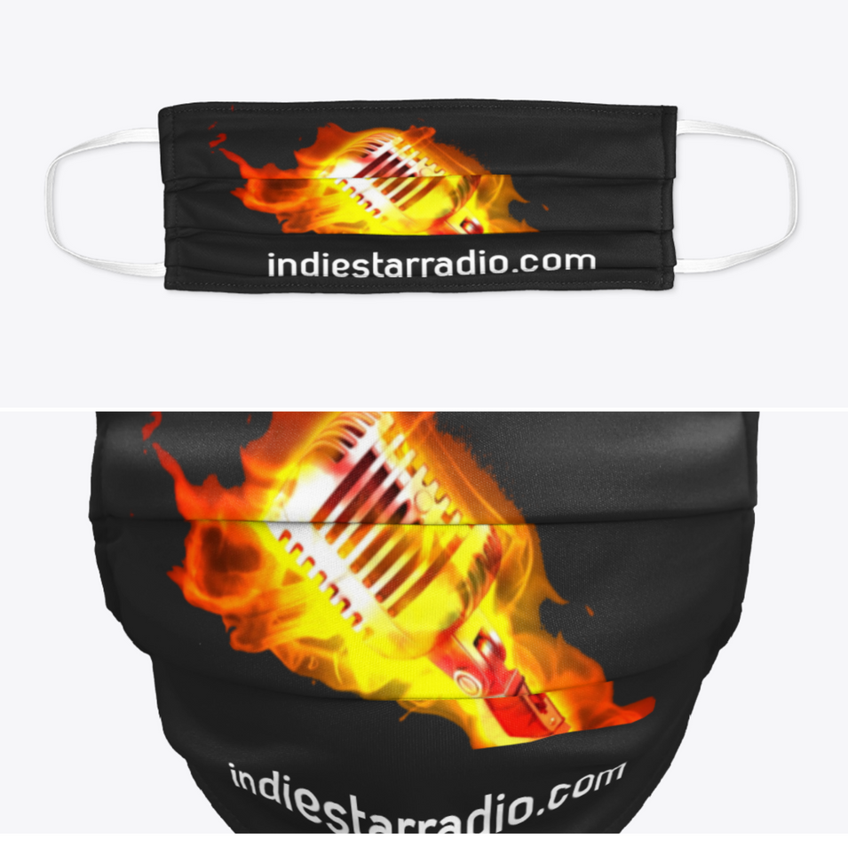 ISR Flaming Mic Face Mask