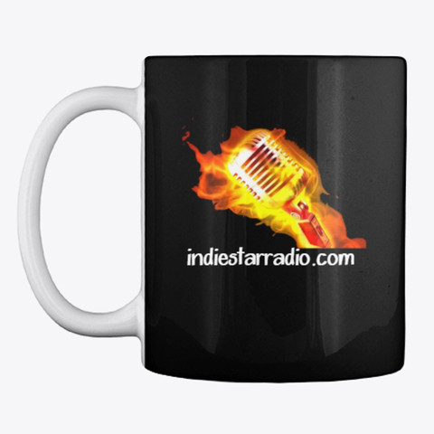 ISR Flaming mic coffee cup