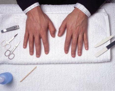 Men`s Manicure