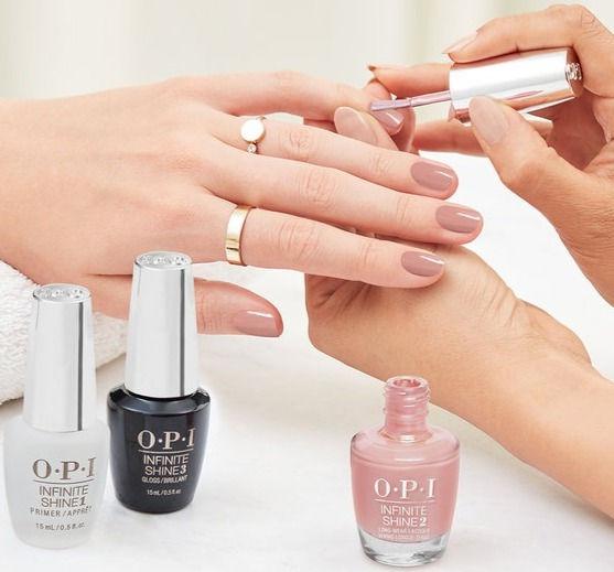 Classic Brazilian manicure O.P.I