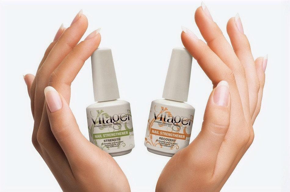 Strengthening + Vitagel + Gel polish