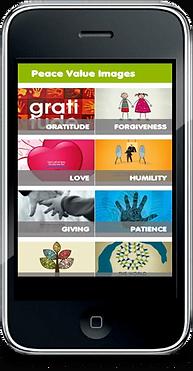 peace value image app