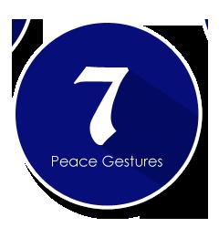 peace gestures