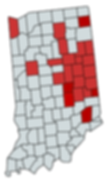 Map of Indiana with Shelby Co,.png