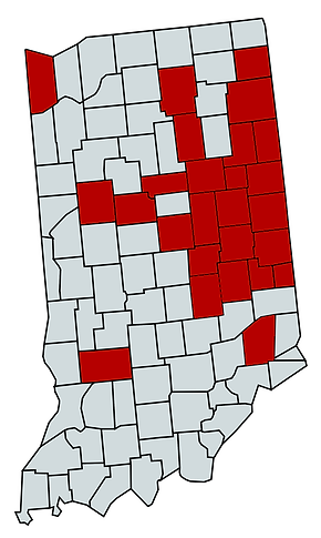 Map of Indiana Updated 9.9.2020 (2020_03