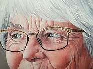 Portrait sample -detail - by C Giblin